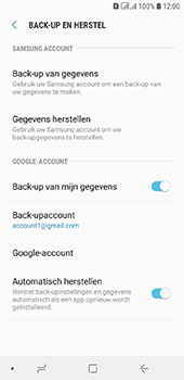 Samsung Galaxy A6 - Data - maak een back-up met je account - Stap 9