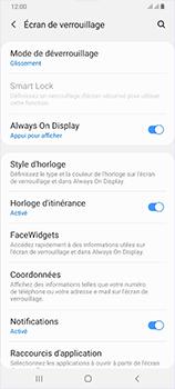 Samsung Galaxy A70 - Sécurité - activéz le code PIN de l'appareil - Étape 5