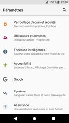 Sony Xperia XZ1 Compact - Téléphone mobile - Réinitialisation de la configuration d