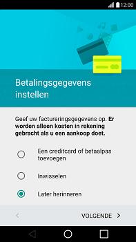LG G4 - apps - account instellen - stap 16