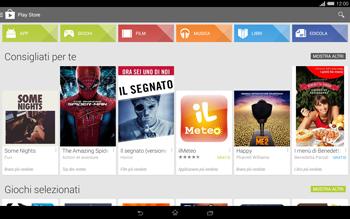 Sony Xperia Tablet Z2 LTE - Applicazioni - Configurazione del negozio applicazioni - Fase 23
