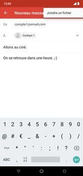 Nokia 7.1 - E-mails - Envoyer un e-mail - Étape 10
