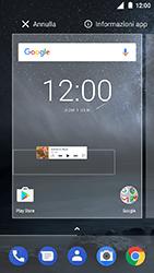 Nokia 3 - Operazioni iniziali - Installazione di widget e applicazioni nella schermata iniziale - Fase 5
