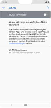 Nokia 6.1 Plus - Android Pie - WLAN - Manuelle Konfiguration - Schritt 6