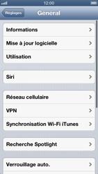 Apple iPhone 5 - Internet et roaming de données - Configuration manuelle - Étape 5