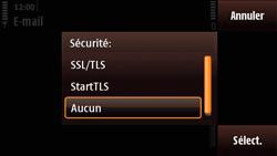 Nokia N97 Mini - E-mail - Configuration manuelle - Étape 15