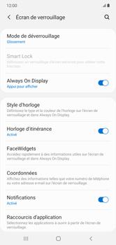 Samsung Galaxy Note 10+ - Sécuriser votre mobile - Activer le code de verrouillage - Étape 5