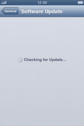 Apple iPhone 3GS - Software - Installing software updates - Step 7