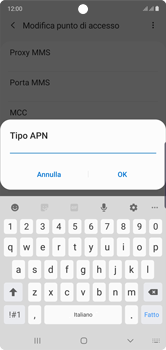 Samsung Galaxy Note 10 - MMS - Configurazione manuale - Fase 13