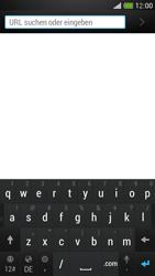 HTC One Mini - Internet und Datenroaming - Verwenden des Internets - Schritt 4
