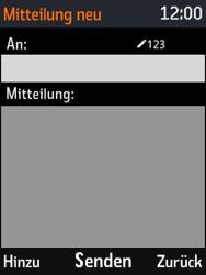 Nokia 3310 - MMS - Erstellen und senden - Schritt 7