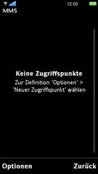 Sony Ericsson U5i Vivaz - MMS - Manuelle Konfiguration - 2 / 2
