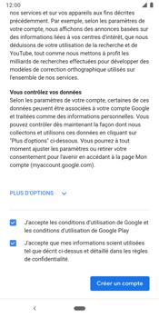 Google Pixel 3 - Applications - Créer un compte - Étape 16