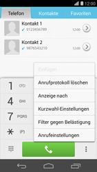 Huawei Ascend P7 - Anrufe - Anrufe blockieren - Schritt 4