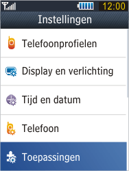 Samsung B3410 Star Qwerty - E-mail - e-mail instellen: POP3 - Stap 4