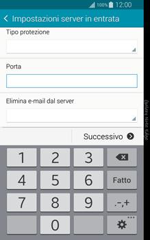 Samsung Galaxy Note Edge - E-mail - configurazione manuale - Fase 10