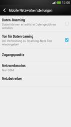 HTC One Mini - Netzwerk - Netzwerkeinstellungen ändern - Schritt 7
