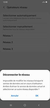 Samsung Galaxy A50 - Réseau - Sélection manuelle du réseau - Étape 12