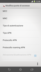 Sony Xperia Z1 - Internet e roaming dati - Configurazione manuale - Fase 14