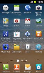 Samsung I8160 Galaxy Ace II - Messagerie vocale - Configuration manuelle - Étape 3