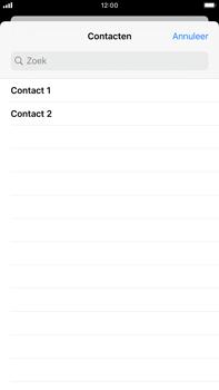 Apple iPhone 8 Plus - iOS 13 - MMS - afbeeldingen verzenden - Stap 6