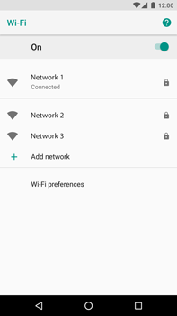 Huawei Nexus 6P - Android Oreo - Wi-Fi - Connect to Wi-Fi network - Step 9