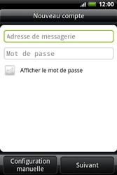 HTC A510e Wildfire S - E-mail - Configuration manuelle - Étape 5