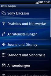 Sony Ericsson Xperia X8 - MMS - Manuelle Konfiguration - 5 / 17