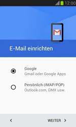 Samsung Galaxy S3 Mini - E-Mail - Konto einrichten (gmail) - 1 / 1
