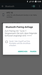 HTC 10 - Bluetooth - Geräte koppeln - 0 / 0
