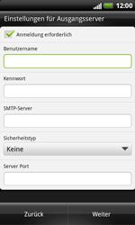 HTC X315e Sensation XL - E-Mail - Konto einrichten - Schritt 11