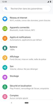 Google Pixel 3 - Internet et connexion - Désactiver la connexion Internet - Étape 4