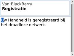 BlackBerry 8520 Curve - Instellingen - ontvangen via SMS - Stap 10
