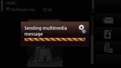 Nokia N97 Mini - MMS - Sending pictures - Step 17