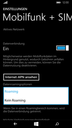 Microsoft Lumia 640 - Ausland - Im Ausland surfen – Datenroaming - Schritt 8