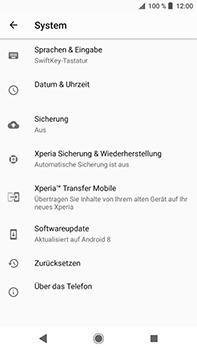 Sony Xperia XZ2 Premium - Fehlerbehebung - Handy zurücksetzen - Schritt 7