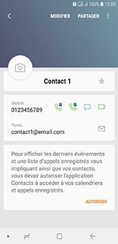Samsung Galaxy J6 - Contact, Appels, SMS/MMS - Ajouter un contact - Étape 13