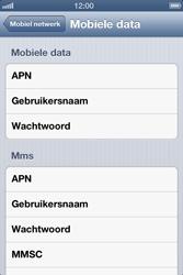 Apple iPhone 4 (iOS 6) - internet - handmatig instellen - stap 7
