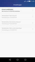 Huawei Y6 - Anrufe - Rufumleitungen setzen und löschen - Schritt 8