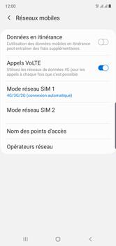 Samsung Galaxy Note 10 - Réseau - Comment activer une connexion au réseau 4G - Étape 8