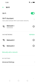 Oppo Find X2 Neo - WiFi - WiFi configuration - Step 8
