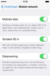Apple iPhone 4 S - iOS 7 - Internet - Internet gebruiken in het buitenland - Stap 7