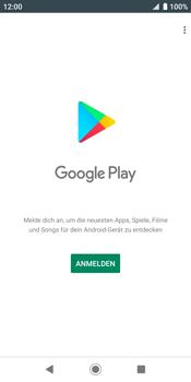 Sony Xperia XZ2 - Android Pie - Apps - Konto anlegen und einrichten - Schritt 4