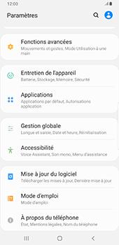 Samsung Galaxy S9 Plus - Android Pie - Logiciels - Installation de mises à jour - Étape 5