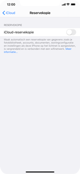 Apple iPhone XS Max - iOS 13 - toestel resetten - back-up maken met jouw account - stap 12
