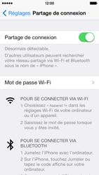 Apple iPhone 5s - Internet et connexion - Partager votre connexion en Wi-Fi - Étape 8