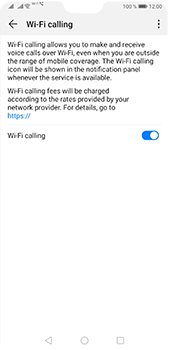 Huawei P20 Pro - Android Pie - WiFi - Enable WiFi Calling - Step 9
