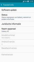 Samsung A300FU Galaxy A3 - Software update - update installeren zonder PC - Stap 5