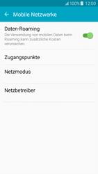 Samsung Galaxy J5 - Ausland - Im Ausland surfen – Datenroaming - 8 / 10