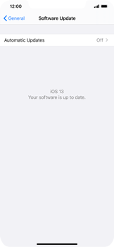 Apple iPhone XS Max - iOS 13 - Software - Installing software updates - Step 6
